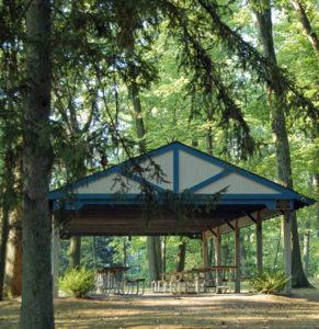 Coleman Park another picnic pavilion