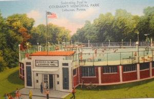 Coleman Park swimming pool
