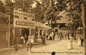 Edgewood Park Penny arcade circa 1923
