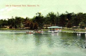 Lake at Edgewood Park
