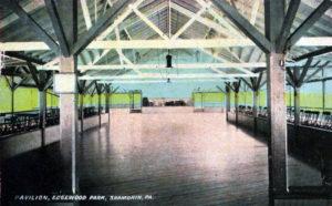 Edgewood Park Pavilion interior