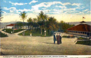 Flagstaff Park New $10,000 Dancing Pavilion circa 1915