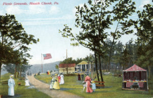 Flagstaff Park early picnic grounds