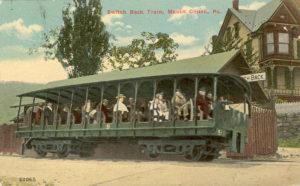 Flagstaff Park Switch Back Train