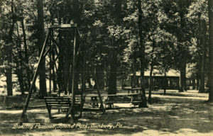 Island Park Dancing Pavilion circa 1909