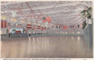 Dance Pavilion at Island Park circa 1929
