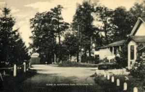 Scene in Kutztown Park