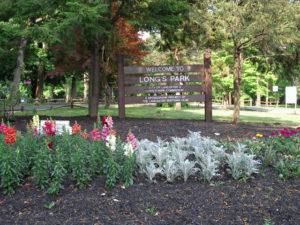 Long's Park entrance - present day