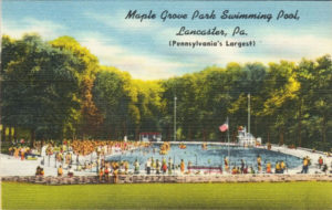 Maple Grove Park Swimming Pool - Pennsylvania's Largest