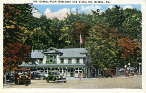 Mt. Gretna Park Entrance and Store
