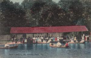 Boat Landing - Mt. Gretna Park circa 1910