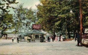 Coca-Cola stand at Paxtang Park