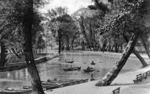 Boats on the Lake at Paxtang Park