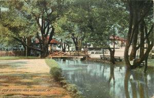 View of Creek in Paxtang Park circa 1909