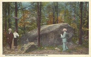 Bull Frog Rock in Ringing Rocks Park