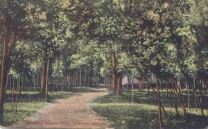 Walking path at Ringing Rocks Park