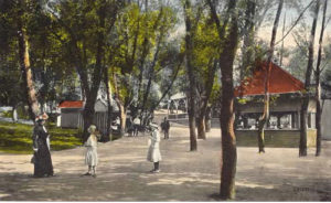 Rocky Springs Park grounds circa 1900s