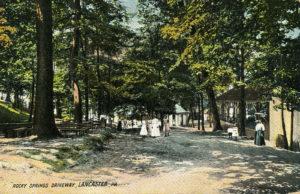Driveway at Rocky Springs Park circa 1908