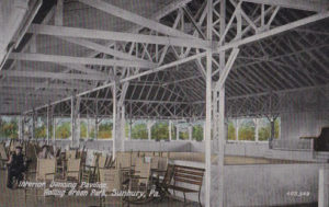 Dancing Pavilion Interior at Rolling Green Park