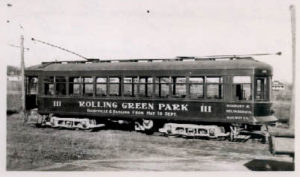 Trolley for Rolling Green Park