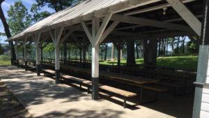 Salem Lutheran Church Grove pavilion - present day