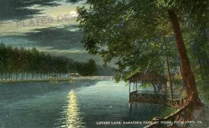 Lovers Lane by Night at Sanatoga Park