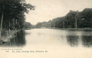 The Lake at Sanatoga Park