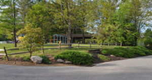 Twin Grove Park pavilion - present day