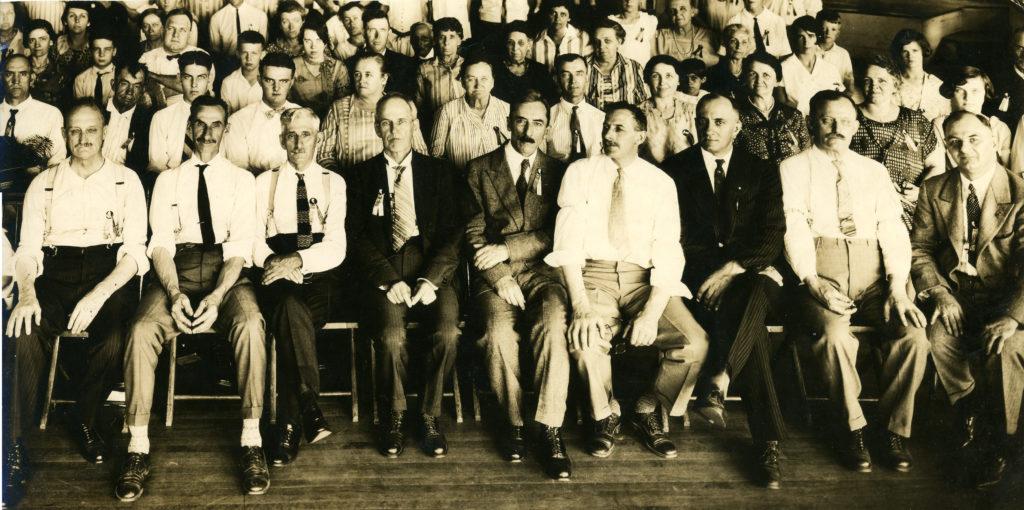1926 Boyer reunion at Sanatoga Park