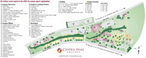 Campus Map of Central Penn College