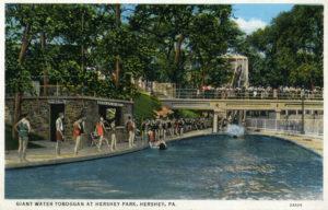 Hershey Park Giant Water Toboggan
