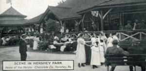 Hershey Park pavilions