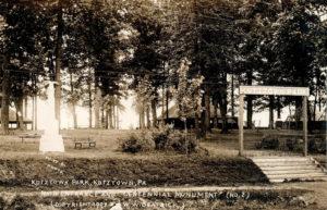 Kutztown Park entrance circa 1907