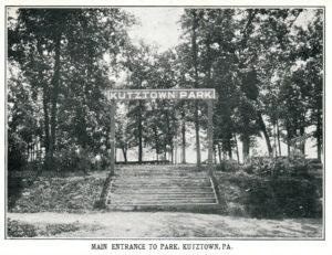 Kutztown Park Entrance