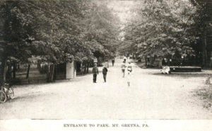 Mt. Gretna Park Entrance