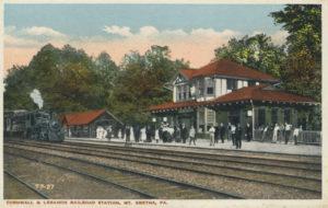 Rail station at Mt. Gretna