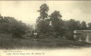 Mt. Gretna train in 1905